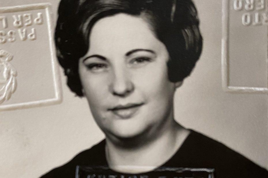Maria nee Ros Chiaradia